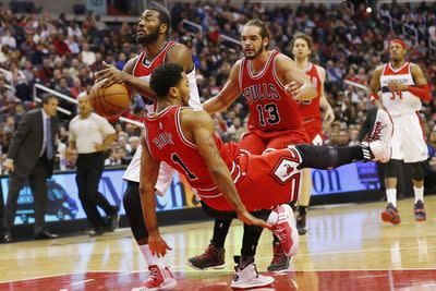 NBA schedule and results: Bulls top Wizards in East showdown