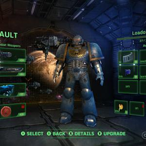 Warhammer 40,000: Eternal Crusade - First look at the Space Marine Model, Assault Class, Devastator Class and Loadout Menu