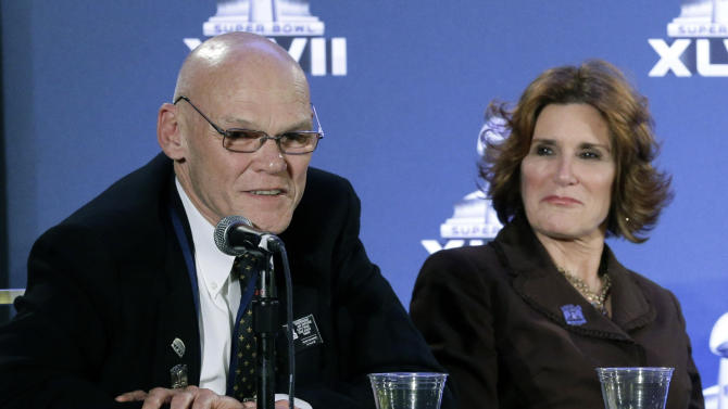 Fox News Channel hires James Carville