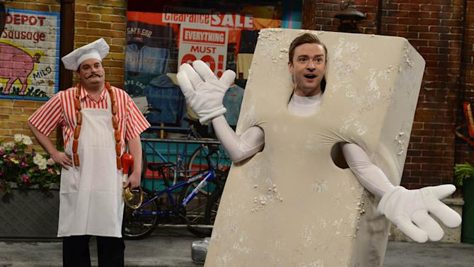 """Saturday Night Live"" -- Justin Timberlake"