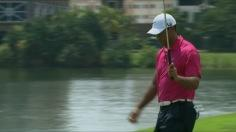 Woods birdies No. 15 in Round 3 of CIMB Classic