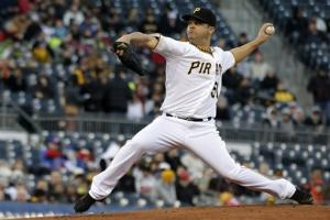 Rodriguez leads Pirates past Cubs 3-0