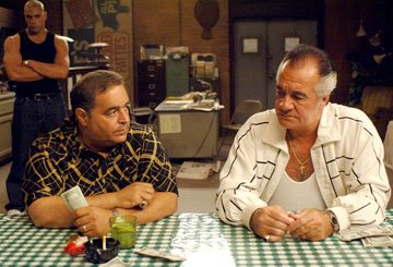 Joe Gannascoli and Tony Sirico HBO's The Sopranos