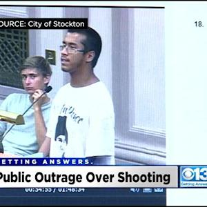 Upset Stockton Residents Demand Answers On Police Protocol In Bank Robbery Shootout