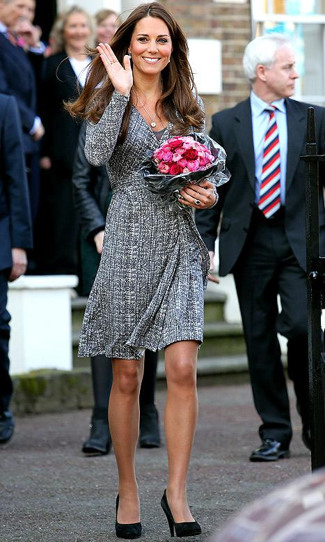 Kate Middleton Nervous About Giving Birth