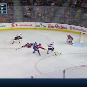 Ben Scrivens Save on Derek Roy (12:35/1st)