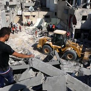 Casualties rise as Israeli air strikes continue in Gaza