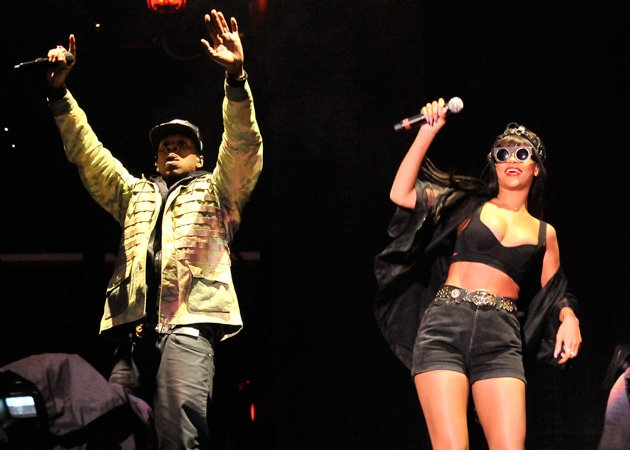Rihanna, Jay-Z, Hackney Weekend