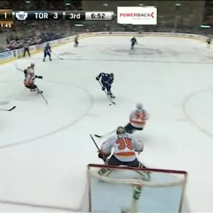 Steve Mason Save on David Booth (13:11/3rd)