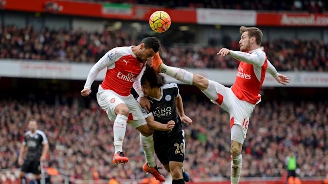 Arsenal v Leicester City - Barclays Premier League