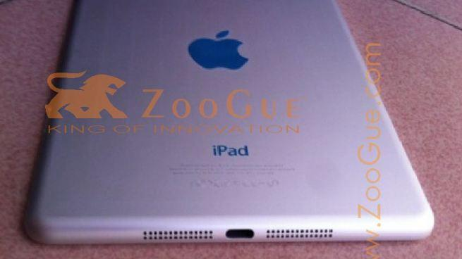 Alleged 'iPad mini' photos could reveal case design