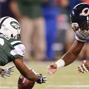 Chicago Bears recover New York Jets muffed punt