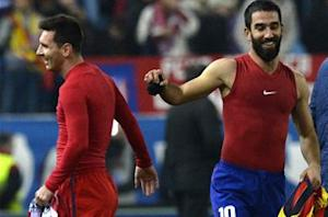 Arda Turan: Messi 'best player in the history of football'