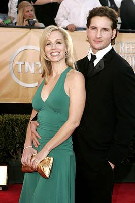 Jennie Garth and Peter Facinelli Screen Actors Guild Awards - 2/5/2005