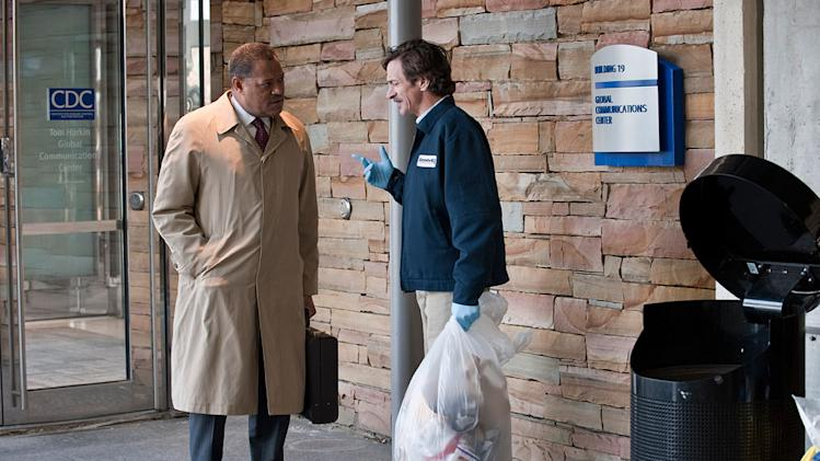 Contagion 2011 Warner Bros Pictures Laurence Fishburne John Hines