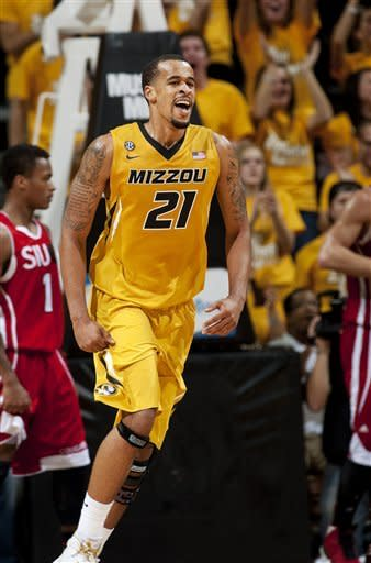 No. 15 Missouri handles SIU Edwardsville in opener