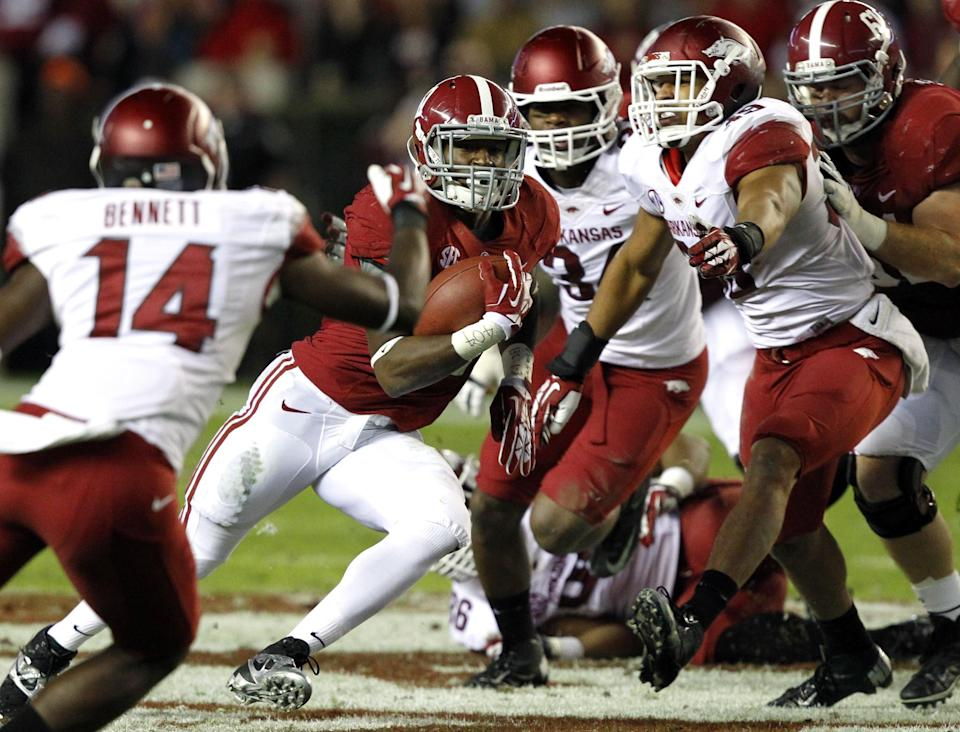Yeldon, Drake latest tough Alabama tailback duo