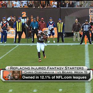 'NFL Fantasy Live': Replacing injured fantasy starters