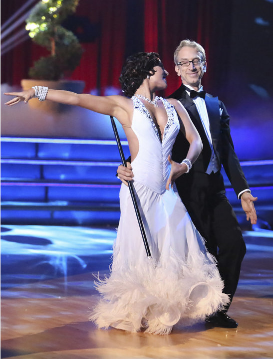 Sharna Burgess and Andy Dick …