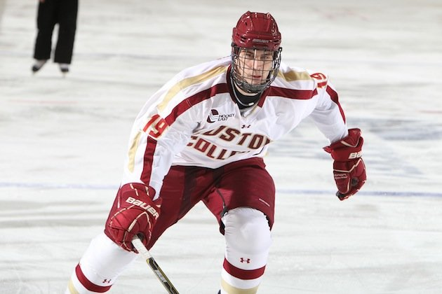 NCAA: Puck Daddy Chats With Boston College's Chris Kreider About Unpredictability Of Tournament