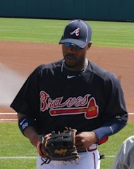 Atlanta Braves outfielder Jason Heyward.