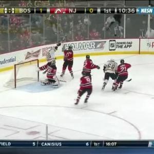 Bruins at Devils / Game Highlights