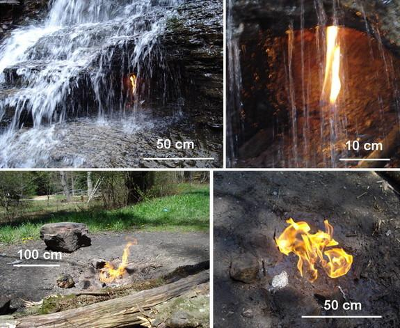 World's 'Most Beautiful' Eternal Flame Reveals New Gas Source