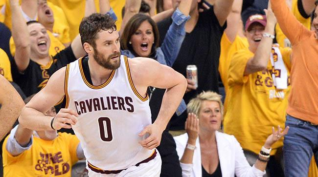 Kevin Love Owes Some Of His Game 5 Heroics To A Selfless Pep Talk From An Unlikely Teammate