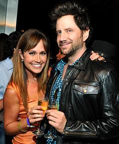 Jamie Kennedy, Nikki DeLoach Party at Champagne Celebration