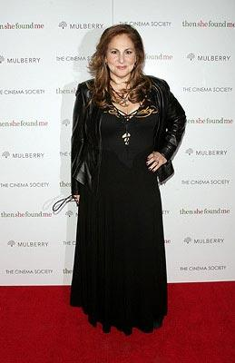 Kathy Najimy at the New York premiere of ThinkFilm's  Then She Found Me