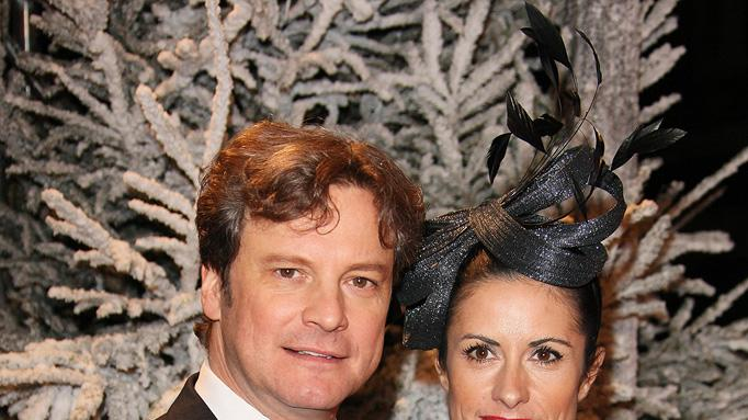 Disney's A Christmas Carol UK Premiere 2009 Colin Firth