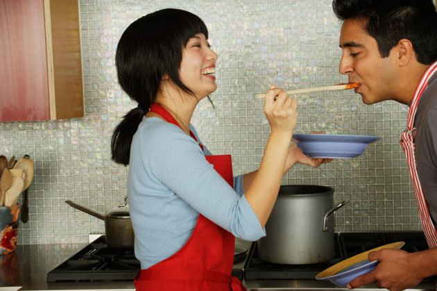 Cooking at home gives you better control over your health. (Getty Images)