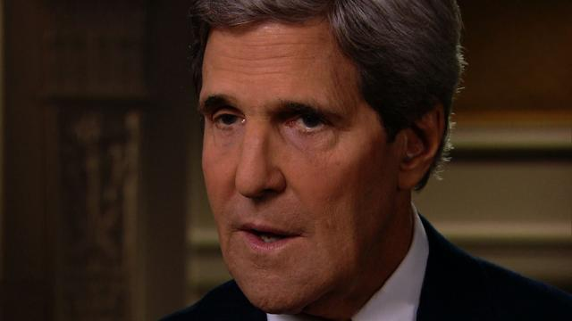 Despite U.N. Syria resolution deal, threat of U.S. force won't be off table, Kerry says