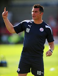 Crawley boss Richie Barker insists Bury have a 'great bunch of players'