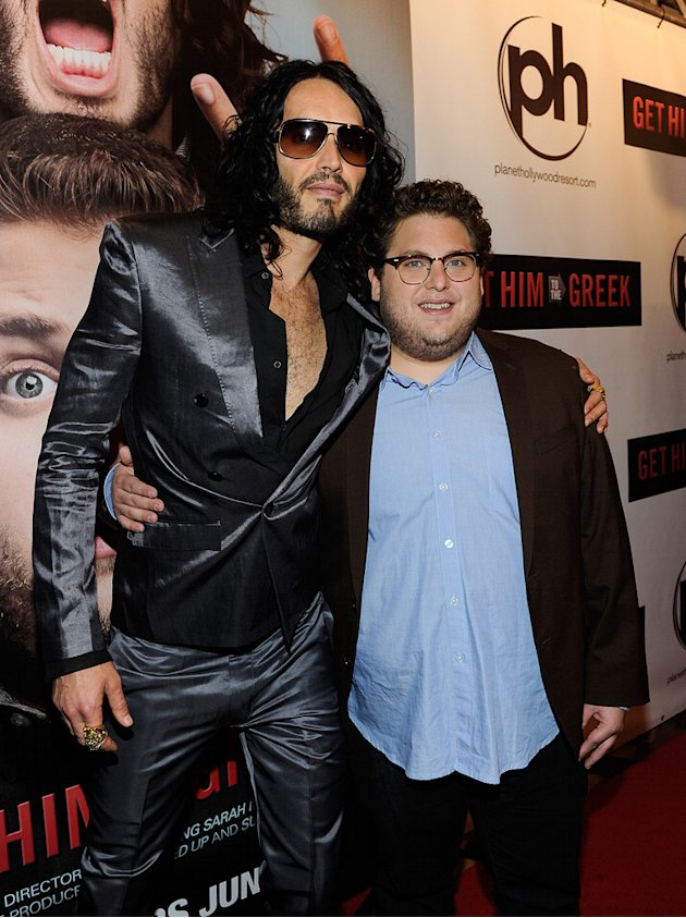 previous Get Him to the Greek Las Vegas screening 2010 Russell Brand Jonah ...