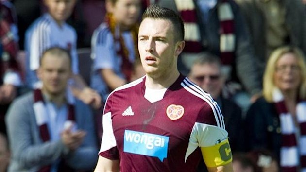 Danny Wilson has been carrying the injury for a couple of weeks