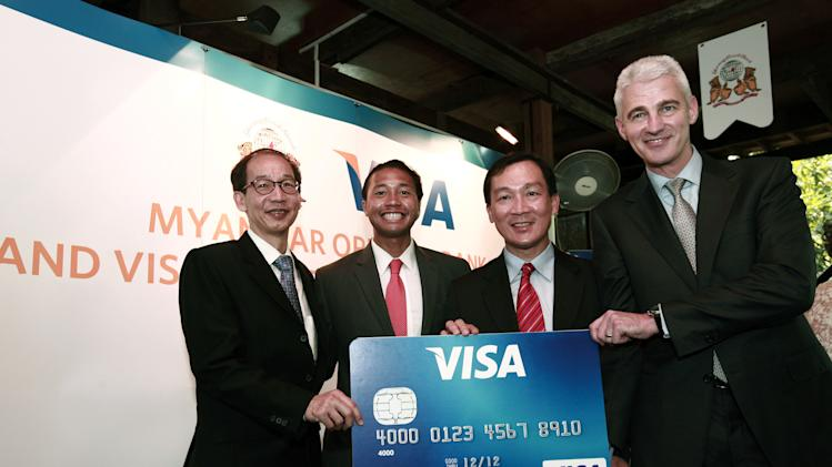 Visa's fiscal 1Q net income jumps 25 pct