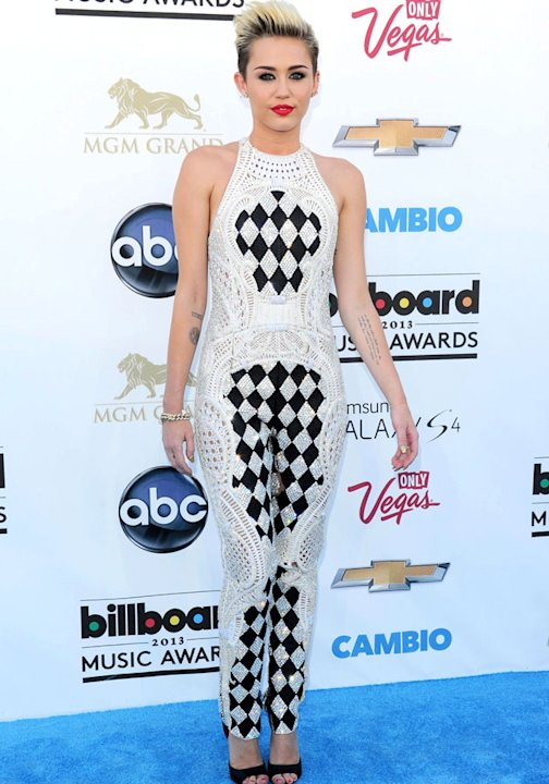 Worst dressed: Miley Cyrus Balmain SS13