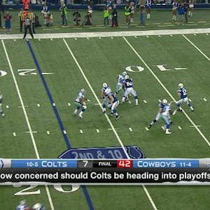 Baldinger on Indianapolis Colts: 'They're a one-dimensional team'