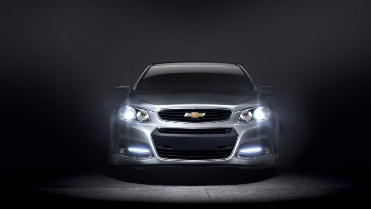 Hot Wheels: Chevrolet SS muscle car