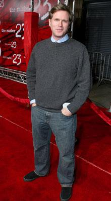 Cary Elwes at the Los Angeles premiere of New Line Cinema's The Number 23