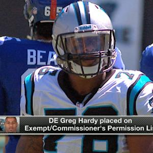 What's next for Carolina Panthers defensive end Greg Hardy?