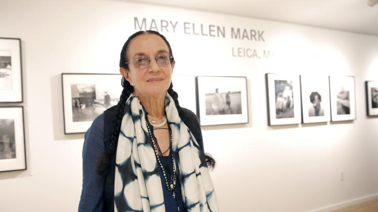IMAGE DISTRIBUTED FOR LEICA - Photographer Mary Ellen Mark attends the Leica Los Angeles Grand Opening, on Thursday, June 20, 2013 in West Hollywood, California. (Photo by Todd Williamson/Invision for Leica/AP Images)
