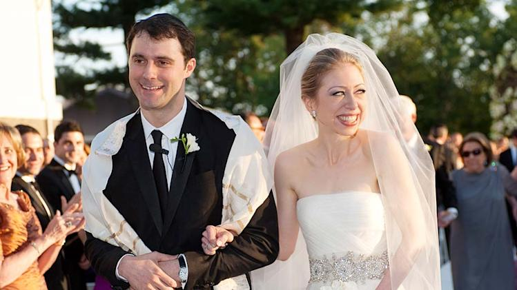 Mezvinsky Clinton Wedding Day