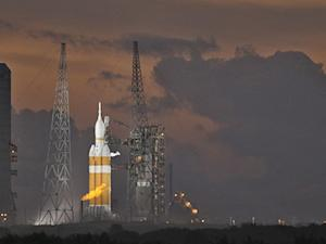 Glitches, Weather Delay Orion Launch