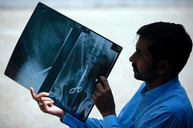 The World's Most Shocking X-rays