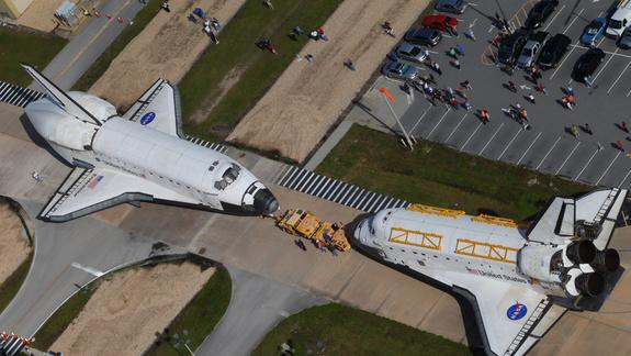 NASA Jets, Tickets Taking Off for Space Shuttle's Flight to L.A.