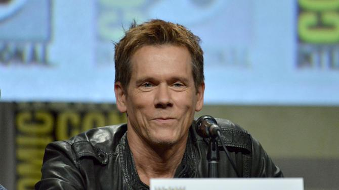 "Kevin Bacon attends ""The Following"" special video presentation and Q&A on Day 4 of Comic-Con International on Sunday, July 27, 2014, in San Diego. (Photo by Richard Shotwell/Invision/AP)"