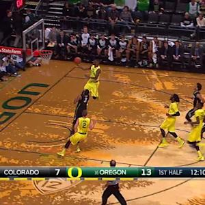 Recap: No.16 Oregon men's basketball roll past Colorado