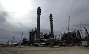 In this Oct. 21, 2013 photo, the H2S and CO2 absorber…
